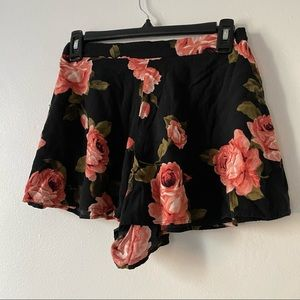 Forever 21 Flowy and Floral Shorts
